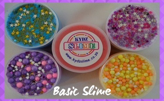 Basic Slime 1 with purple pattern border