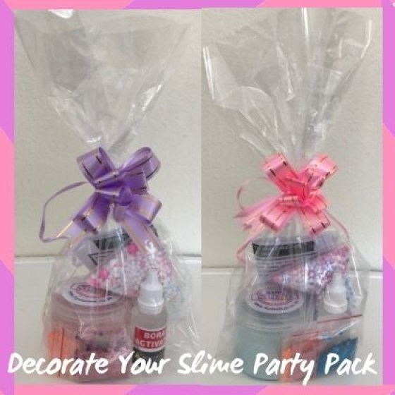 Decorate Your Slime Party Packs