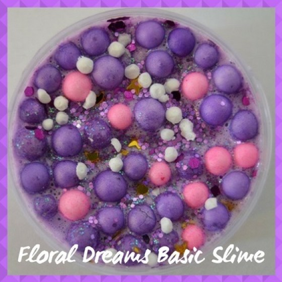 BAS004 Floral Dreams Basic Slime Pic
