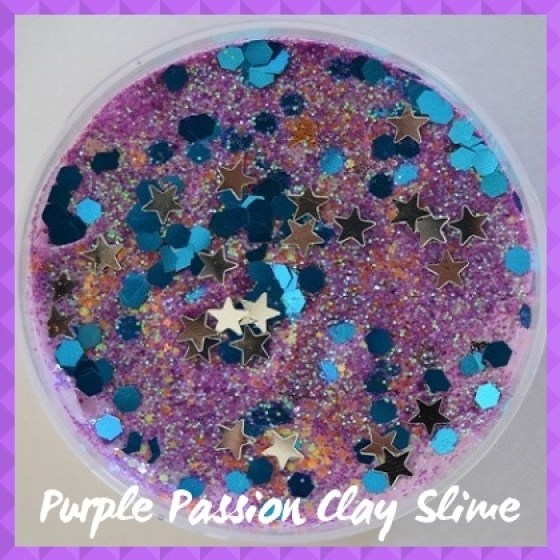 CLBS009P  Purple Passion Clay Slime Sub Categry pic