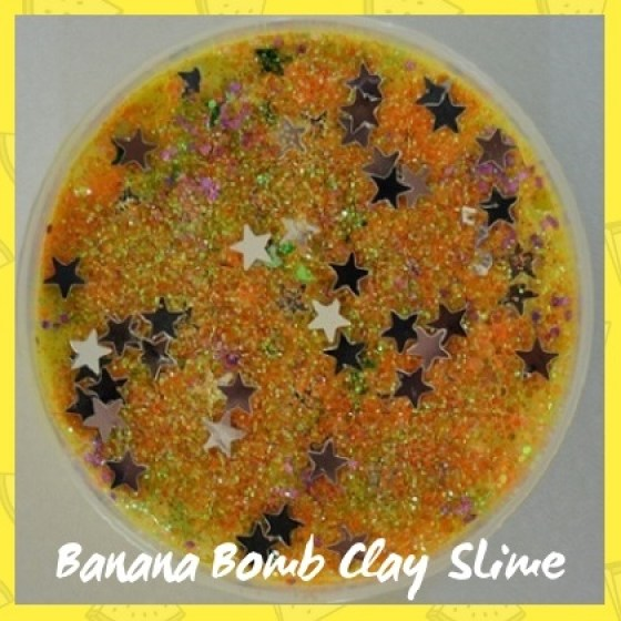 CLBS010Banna Bomb Clay SLime sub category pic