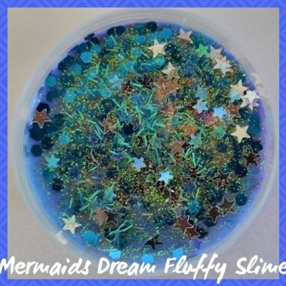 FLS016  Mermaids Dream Fluffy Slime sub Category pic
