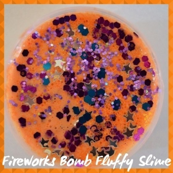 FLS018  Fireworks Bomb  Fluffy Slime sub Category pic