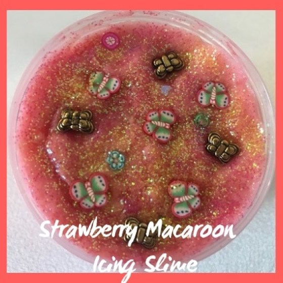 ICS023 Strawberry Macaroon Icing SlimeSub Category Pic